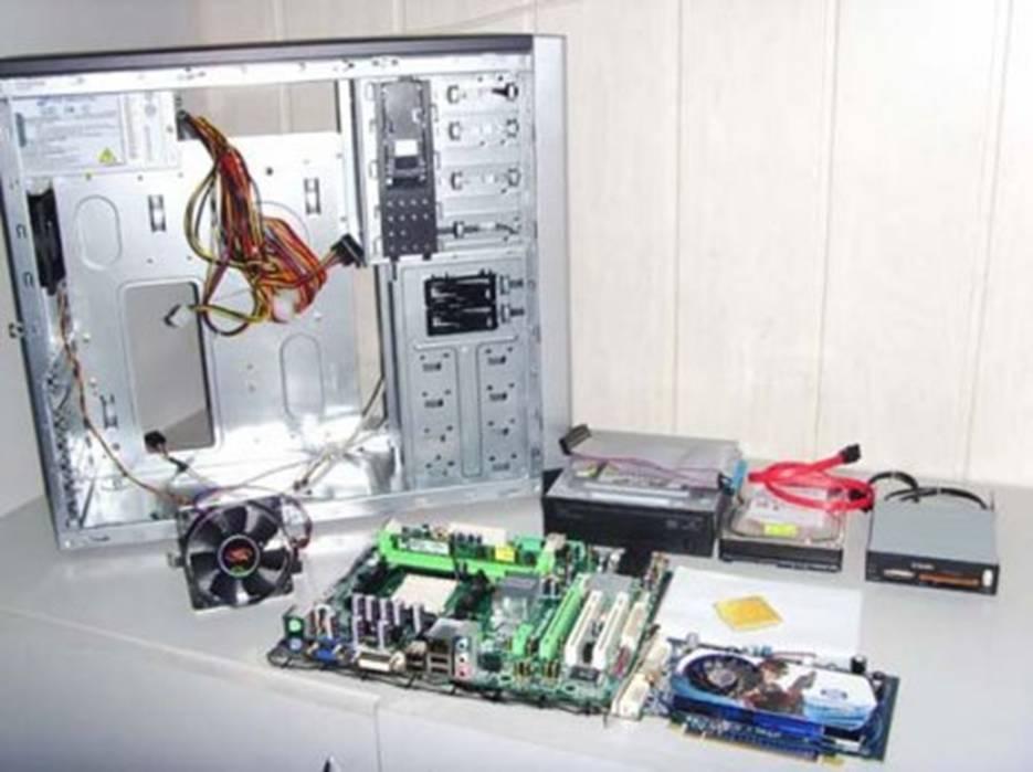 Собрать компьютер своими руками фото - ЛЕГИОН